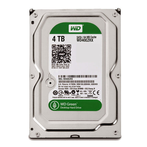 "Western Digital WD  4TB Green 3.5"" Internal Hard Drive, EMPRESS #WDCG4, MFR #WD40EZRX"