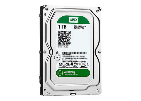 WESTERN DIGITAL WD 1TB GREEN INTERNAL HARD DRIVE SATA-600, EMPRESS #WDCG1,  MFR #WD10EZRX