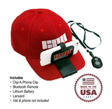 "Clip-A-Phone Hat Accessory - Turn your smartphone into a ""GoPro"" first person cam!"