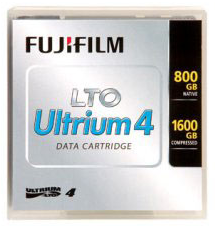 Fujifilm LTO 4 Tape MFR #- 15716800 800/1600 GB Data Cartridge