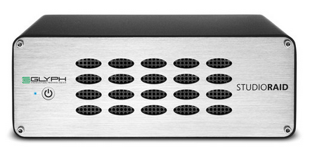 Glyph Technologies 10TB StudioRAID Storage Array, Empress # GLYPH SR10000, MFR #SR10000
