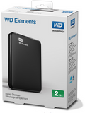 Western Digital WD 2TB Elements Portable Hard Drive