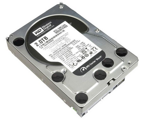 "Western Digital WD Black 2TB 7200 RPM 64MB Cache SATA 6.0Gb/s 3.5"" Internal Hard Drive Bare Drive - OEM, EMPRESS #WDCB2,  MFR# WDCB2"
