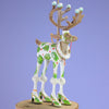 Patience Brewster by MacKenzie-Childs, Dash Away Mini Vixen Ornament