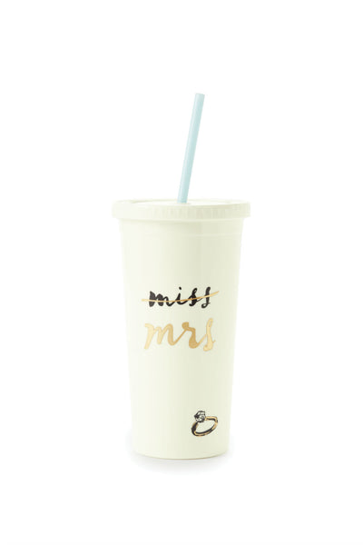Kate Spade Miss to Mrs. Insulated Tumbler