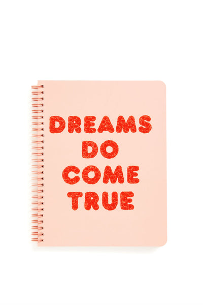 Ban.do Bando Notebook Note book dreams do come true pink