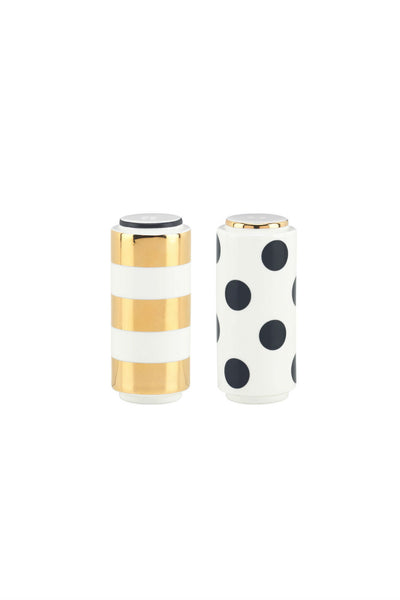 Kate Spade Party Shakers Salt and Pepper Set
