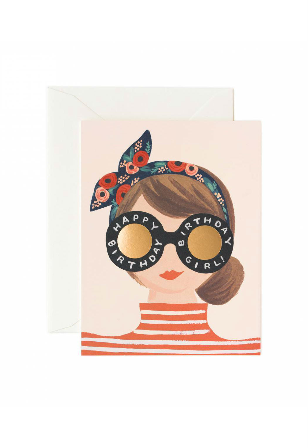 Rifle Paper Birthday Card Girl
