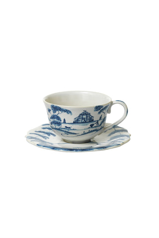 Juliska Country Estate Delft Blue Cup & Saucer