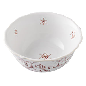 Juliska Country Winter Frolic Ruby Cereal Bowl - New Orientation  - 2