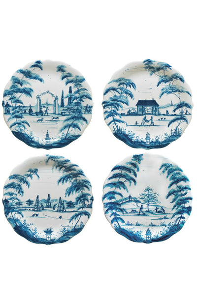 Juliska Country Estate Delft Blue Party Plate Set