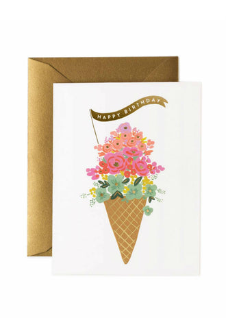 Triple Scoop Birthday Bouquet