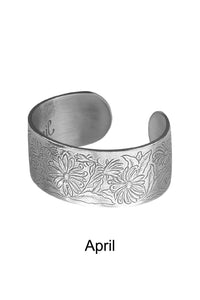 Flower of the Month Bracelets