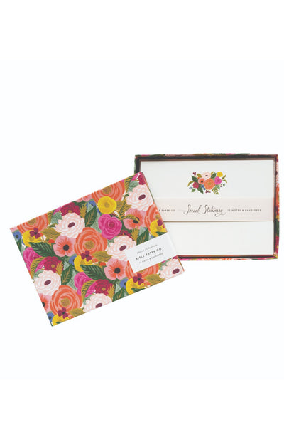 Rifle Paper Co. Juliet Rose Stationery Set