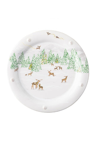 Juliska Berry and Thread North Pole Dinner Plate