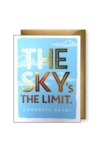 The Sky's the Limit Card