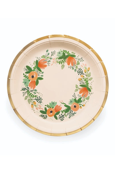 Rifle Paper Co. Wildflower Large Paper Plates