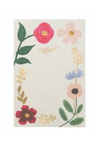 Rifle Paper Co. Wildflowers Notepad