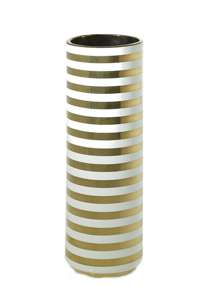 Gold Striped Vase New Orientation