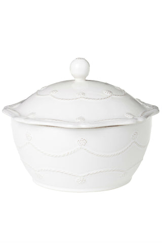 Juliska Berry and Thread Whitewash Covered Casserole