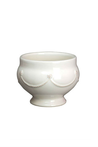 Juliska Berry and Thread Whitewash Footed Soup Bowl