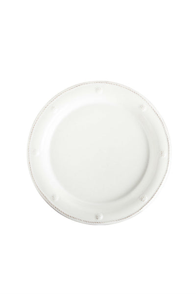Juliska Berry and Thread Whitewash Round Salad Plate