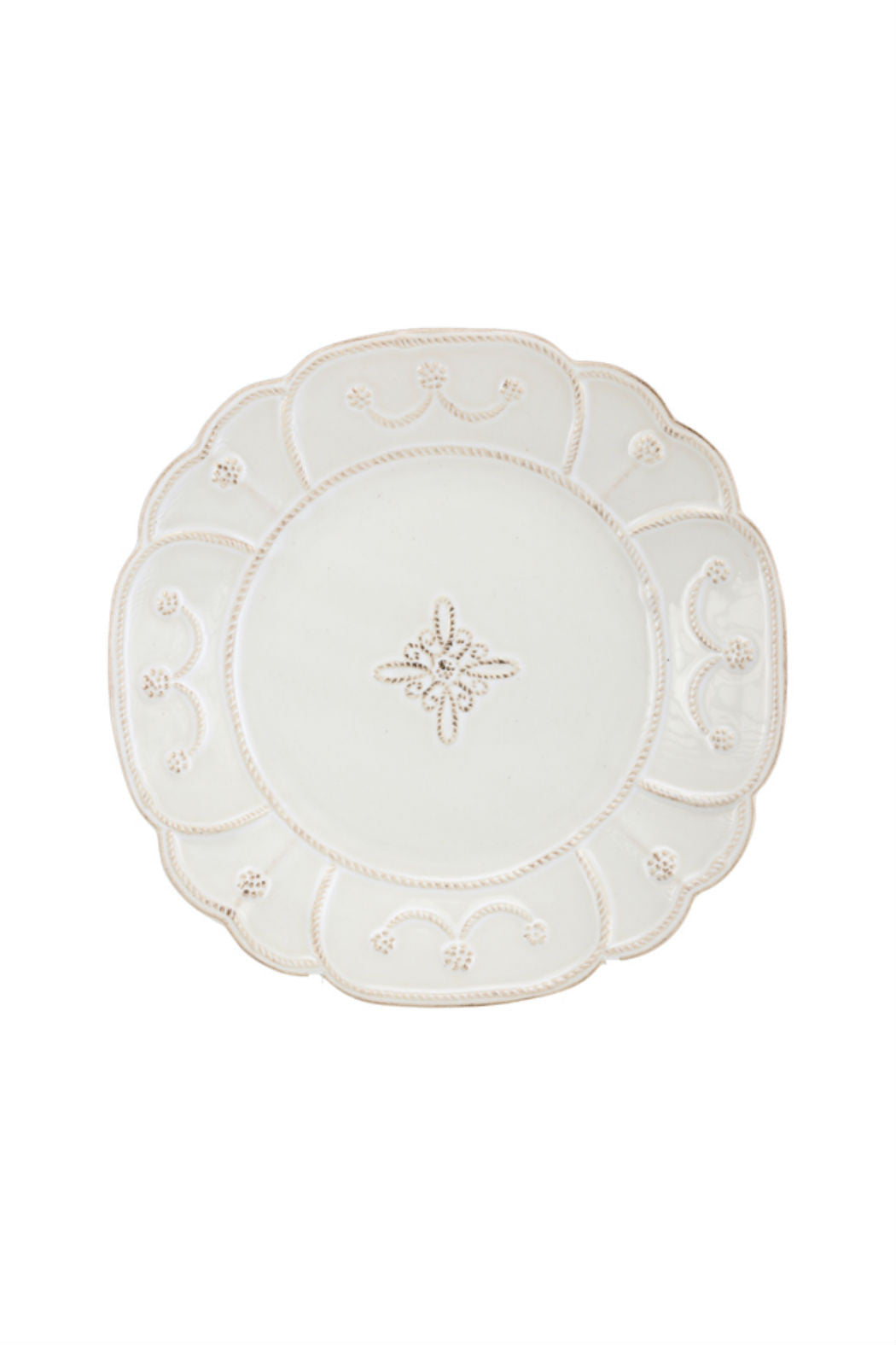 Juliska Jardins du Monde Whitewash Salad Plate - New Orientation