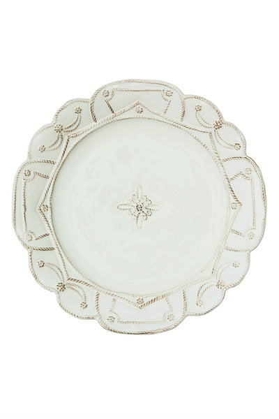 Juliska Jardins du Monde Whitewash Dinner Plate - New Orientation