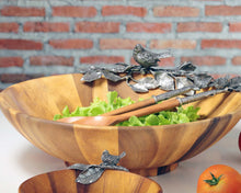 Load image into Gallery viewer, Vagabond House Song Bird Serving Bowl