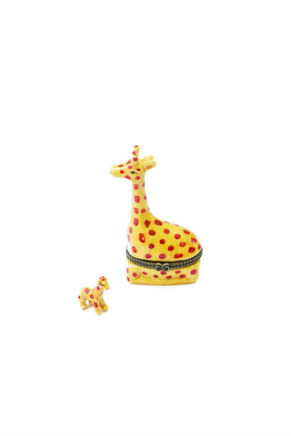 Mama and Babe Giraffe Box