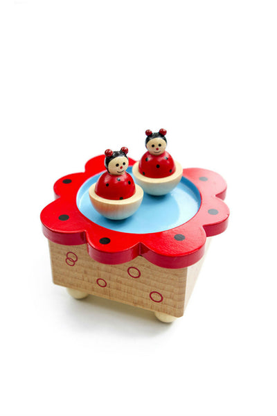 Lady Bug Music Box