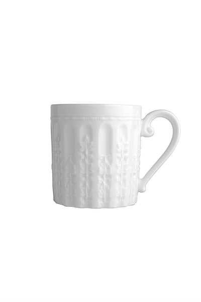 Bernardaud Louvre Mug White Everyday Dishes - New Orientation