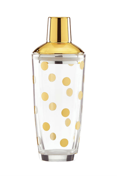 Kate Spade Party Dot Martini Shaker