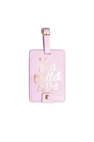 Ban.do Outta Here Luggage Tag