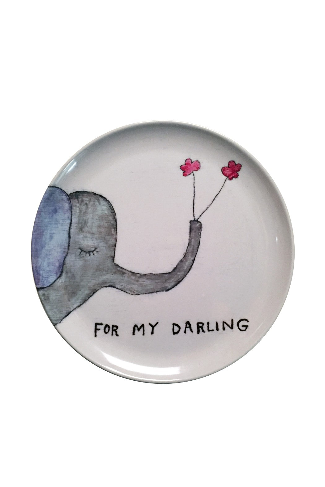 For My Darling Melamine Plate