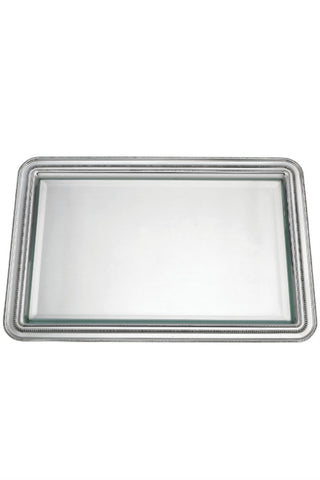 Heritage Banded Bead Pewter Tray