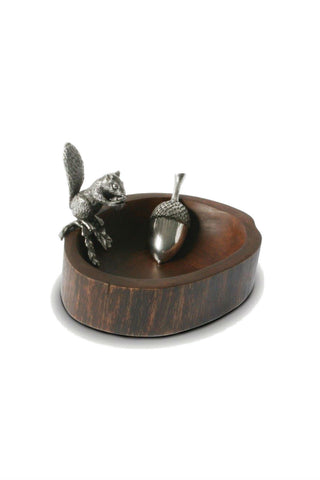 Vagabond House Squirrel Bowl with Scoop