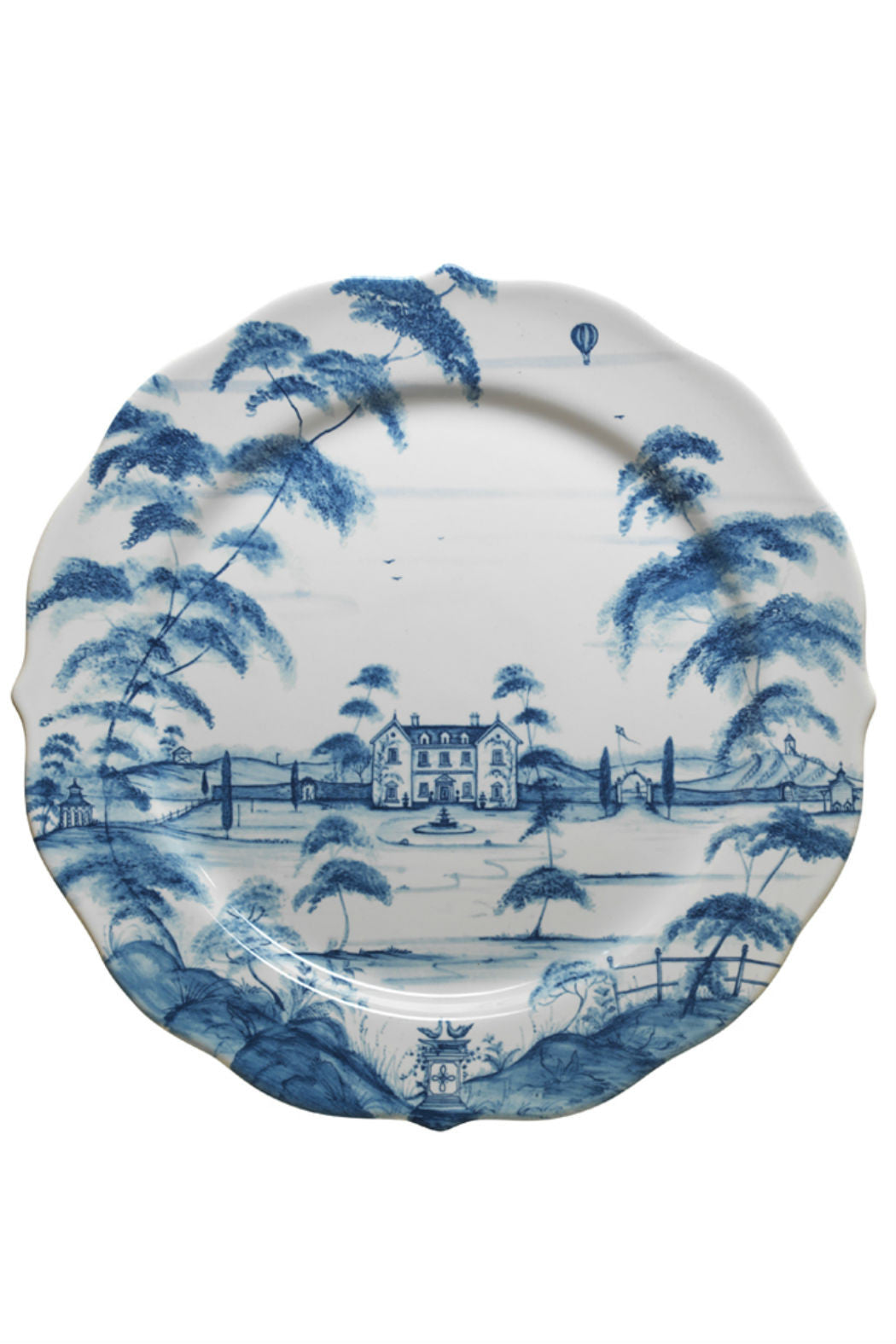 Juliska Country Estate Delft Blue Charger Plate - New Orientation