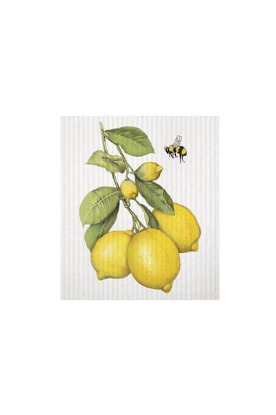 Lemon Branch Sponge Cloth