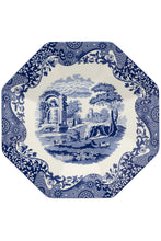 Load image into Gallery viewer, Spode's 250th Anniversary Blue Italian Octagonal Platter