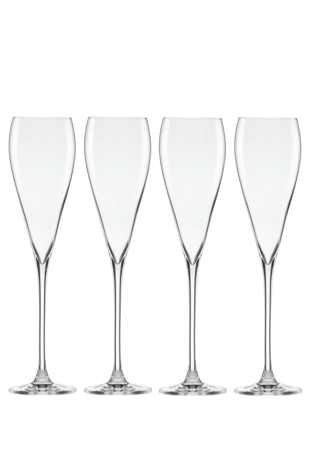 Tuscany Set of 4 Champagne Flutes