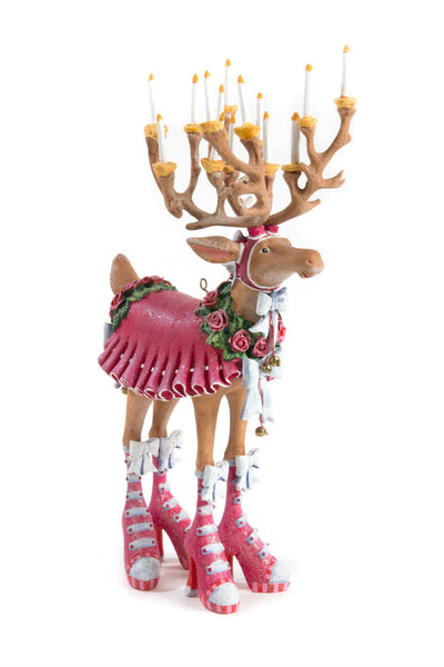 Patience Brewster by MacKenzie-Childs Dash Away Donna Reindeer Figure