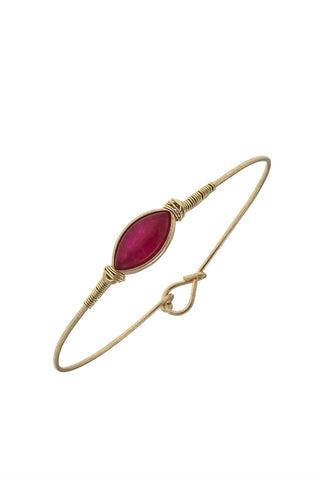 Ruby Red Bangle
