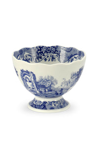 Spode Blue Italian Small Footed Bowl