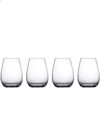 Marquis by Waterford Moments Stemless Wine Set of 4