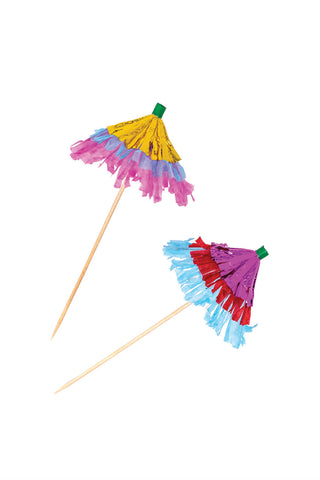 Festive Umbrella Picks