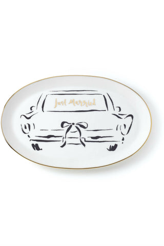 Kate Spade Just Married Dish