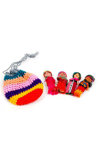 Worry Dolls set of 4