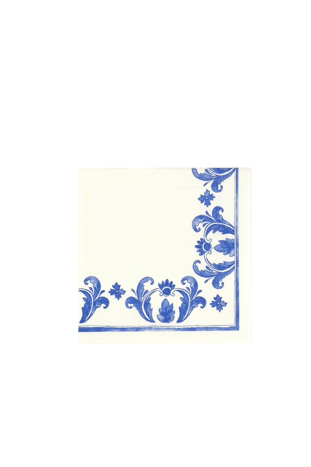 China Blue Paper Cocktail Napkins