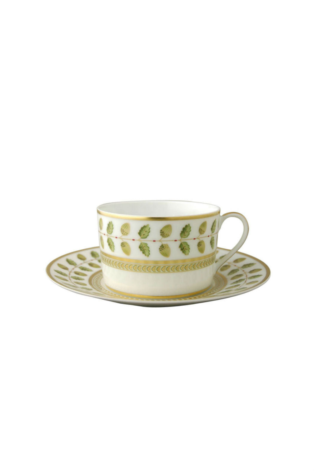 Bernardaud Constance Green Tea Cup and Saucer